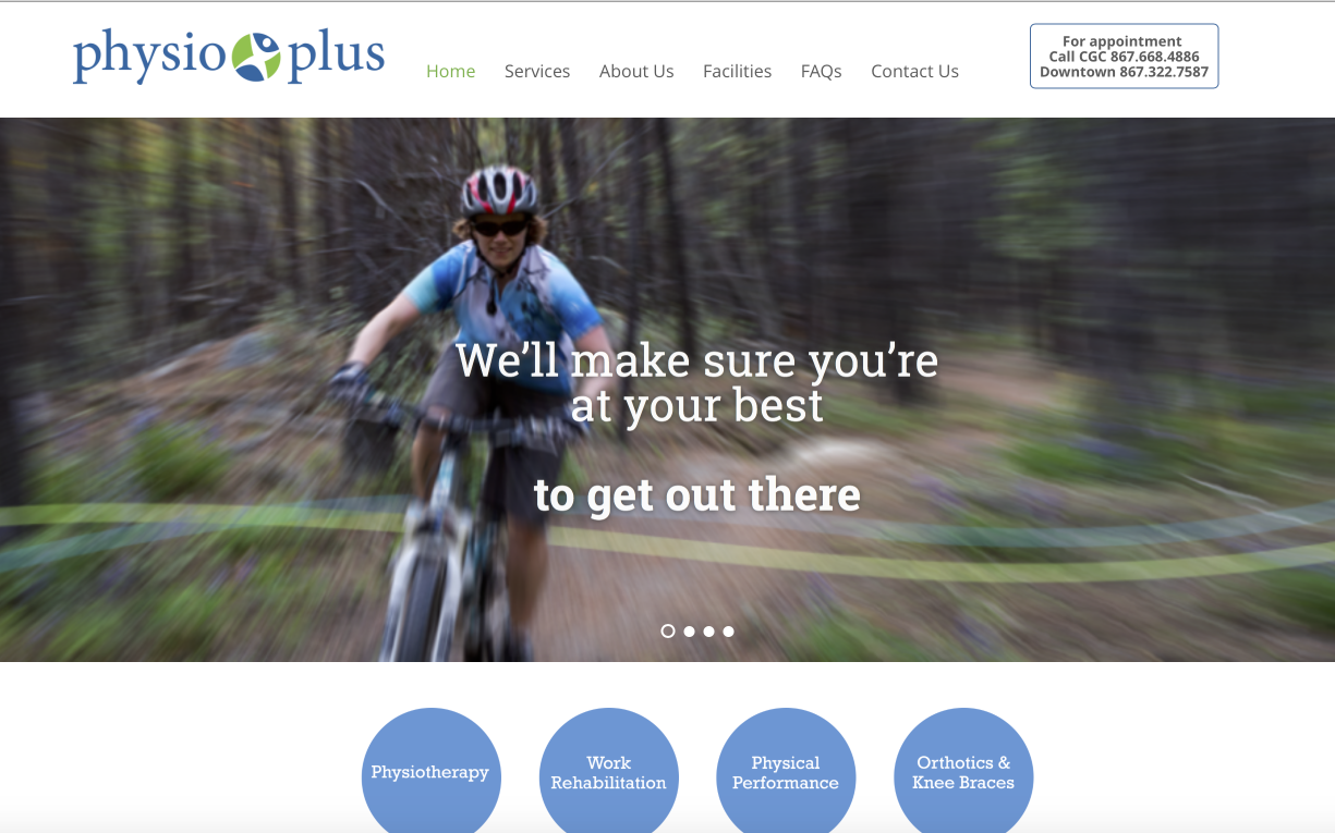 PhysioPlus website